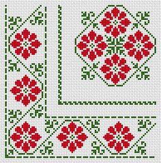 салфетки: 150 схем вышивки