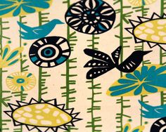 Premier Prints Fabric - Menagerie - Designer Collection - Sunshine/Natural - Home Decor Fabric
