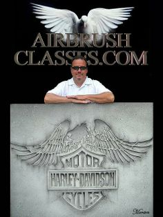 #airbrush #harley #motorcycle #howto #dvds #techniques #flesh tones #skulls #photo realism #howto