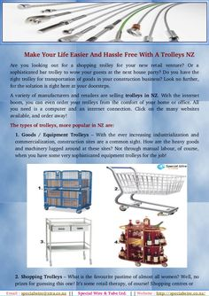 Special wire offer an extensive range of best-quality Tollerys NZ for a wide range of industries and applications. We have four types of trolleys In NZ. Goods / Equipment Trolleys, Shopping Trolleys, Medical Trolleys & Bar-trolleys.
