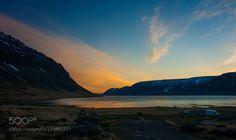 Nightfall at Arnarfjordur by chbustosr