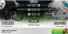 http://steelersvsdolphinslive.us    Steelers vs Dolphins Live