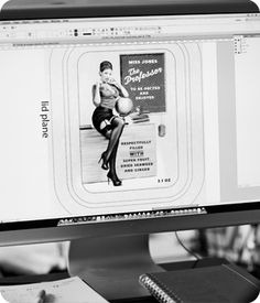 Chocolates with Attitude (pinup girls). The process here is what's cool.