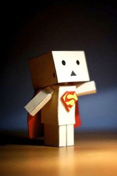 Amazon Box Robot Super Man