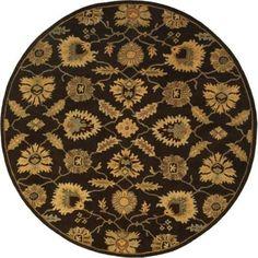Surya CAE1184-99RD Caesar 10' Round Wool Hand Tufted Traditional Area Rug