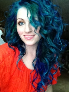 By ursiola - Photobucket. I got tired of the rainbow pretty quickly and feel a lot better now that I am blue again.