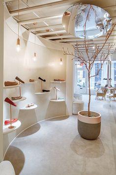 Christian Lahoude Studio Crafts an Ultra-Feminine Boutique for Shoe Brand Josefinas