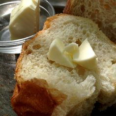 Fresh bread and butter, Hunter's Head Tavern, Upperville VA