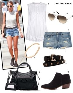Summer Shorts: Distressed Denim & Ankle Boots (Part II)