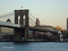 Brooklyn Bridge, from South Seaport