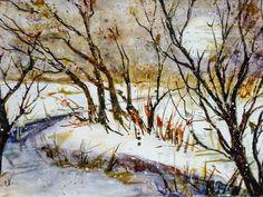 'Sonnennebel im Auland' von Chris Berger bei artflakes.com als Poster oder Kunstdruck $16.99