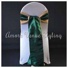 #wedding #sash #taffeta #hessian #hunter #green