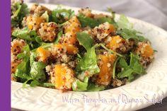 Pumpkin Quinoa Salad Thermomix