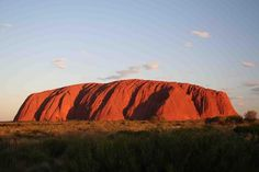 Ayers Rock or Uluru I was too scared to climb it when I was so I need to go back & conquer it with my family! Ayers Rock, Rock Climbing, Beautiful Places, To Go, Places To Visit, Tapestry, Australia, Mountains, Travel