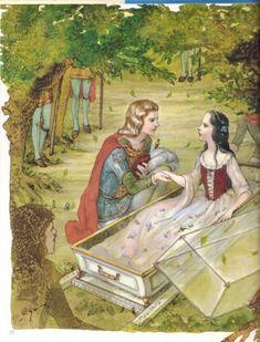 Itsuko Azuma illustration for Snow White