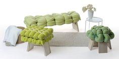 Zieharsofika stools by Meike Harde