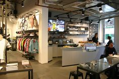 Rapha Store and Cafe, London