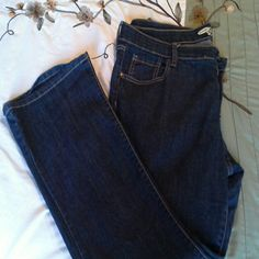 Old Navy jeans The Diva The Diva style jeans,  14 short, bootcut. Small tear on waistband, shows in second picture. Old Navy Jeans