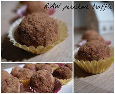 RAW perníkové truffle