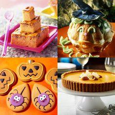 Charlotte, gâteau, tarte... Retrouvez nos idées de recettes dans notre menu Halloween