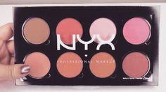 Nyx Pro Blush Palette