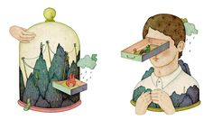 Whooli Chen, Editorial Illustrations 2013, The return 1+2