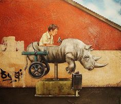 Tyson Grumm Posters | ... post from March, reviewing the inclusion of rhinos in his paintings