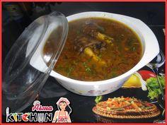 Asma's Kitchen: Hyderabadi Paya Nihari