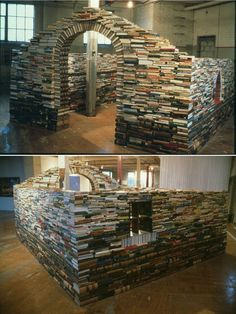 I want to build a fort like this and live in it where no one will bother me while i read all day