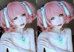 Dolly Eye Blytheye pink colored lenses are sweet and lucious pink. They open up eyes to give them a wide eye effect.