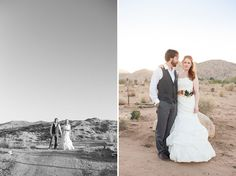 Joshua Tree Desert Wedding: Jenn + Jason
