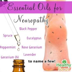 16 Science Backed Essential Oils for Neuropathy-2018 - Healthy Focus
