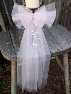 Centerpiece Bow Church Decorations Quinceanera Wreath by OneFunDay
