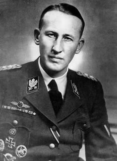 Reinhard Tristan Eugen Heydrich (March 1904 – 4 June was a high-ranking German Nazi official during World War II,''Butcher of Prague''and had a major role in the extermination of European Jewry War Pigs, Workers Party, European American, The Third Reich, War Machine, World History, World War Two, Wwii, German