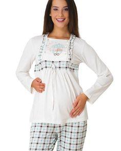 hamile pijama, hamile pijama takımları, hamile pijama takımı Maternity Nursing Dress, Overall Shorts, Overalls, Dresses, Women, Fashion, Babydoll Sheep, Vestidos, Moda