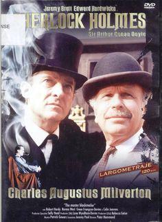 CINE SUSPENSE HAM - Jeremy Brett y Edward Hardwicke. Holmes pone en marcha una asombrosa campaña para detener a Charles Auguste Milverton, considerado el rey de los chantajistas...