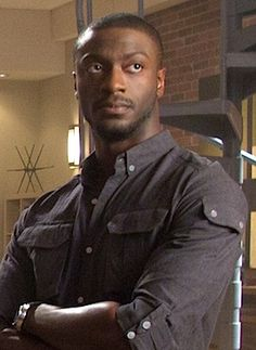 Aldis Hodge: One of my favorite actors and the guy who played Israel Trent in my mind the whole time I was writing.