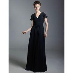 PAULA ANDREA - Robe de Soirée Mousseline - USD $ 99.99