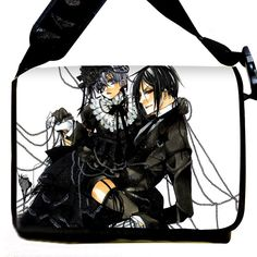 Dreamcosplay Anime Black Butler Logo Shoulder Bag School Bag Student Bag Cosplay >>> To view further for this item, visit the image link.