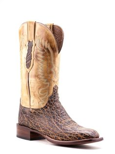 Mens Lucchese Peat Elephant Boots Cy1402.W8S - Texas Boot Company is located in Bastrop, Texas. www.texasbootcompany.com