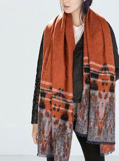 Bufandas perfectas para el invierno: Bufa-manta