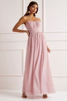 Buy Lipsy Bella Bandeau Multiway Maxi Dress from the Next UK online shop Mismatched Bridesmaid Dresses, Bridesmaid Ideas, Bridesmaids, Strapless Dress Formal, Formal Dresses, Next Uk, Uk Online, Becca, Wedding Colors