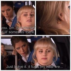 Fat Amy <3 Perfect Love, Pitch Perfect, Fat Amy Quotes, Movies And Tv Shows, Movie Tv, Funny Stuff, Lol, Junk Drawer, Random