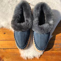 11e13368b236 Sheepskin slippers Mens slippers Fur slippers Leather slippers Warm slippers  Full length fur Unisex slippers Womens slippers House shoes 42