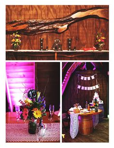 Lisa & Louis added some sweet personal touches to their wedding at the Barn!  Photo courtesy of Monika Broz Photography.  #barnwedding #rustic #chic