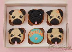 fondant dog cupcake toppers - Google Search