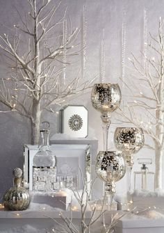 Glam Gifts For The Who Has Everything Christmas Decor Bathroom Decorating Mantle