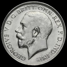 1912 George V Silver Florin, Scarce, GVF / AEF