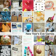 If you are looking for some last minute ideas, these New Year's Eve Party Games and Activities are super easy to put together.