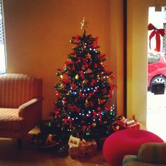#Christmas Tree at the O&B #Athens Boutique #Hotel - #Athens - #Greece athenshotel's photo on Instagram